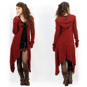 \\\'\\\'\\\'Makshi\\\'\\\' cardigan, Red