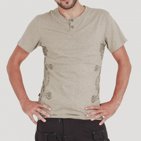 \'\'Abu\'\' t-shirt, Grey