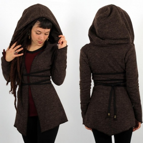 \\\'\\\'Akwaä\\\'\\\' cardigan, Brown
