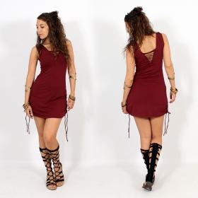 \'\'Alchemy\'\' dress, Maroon