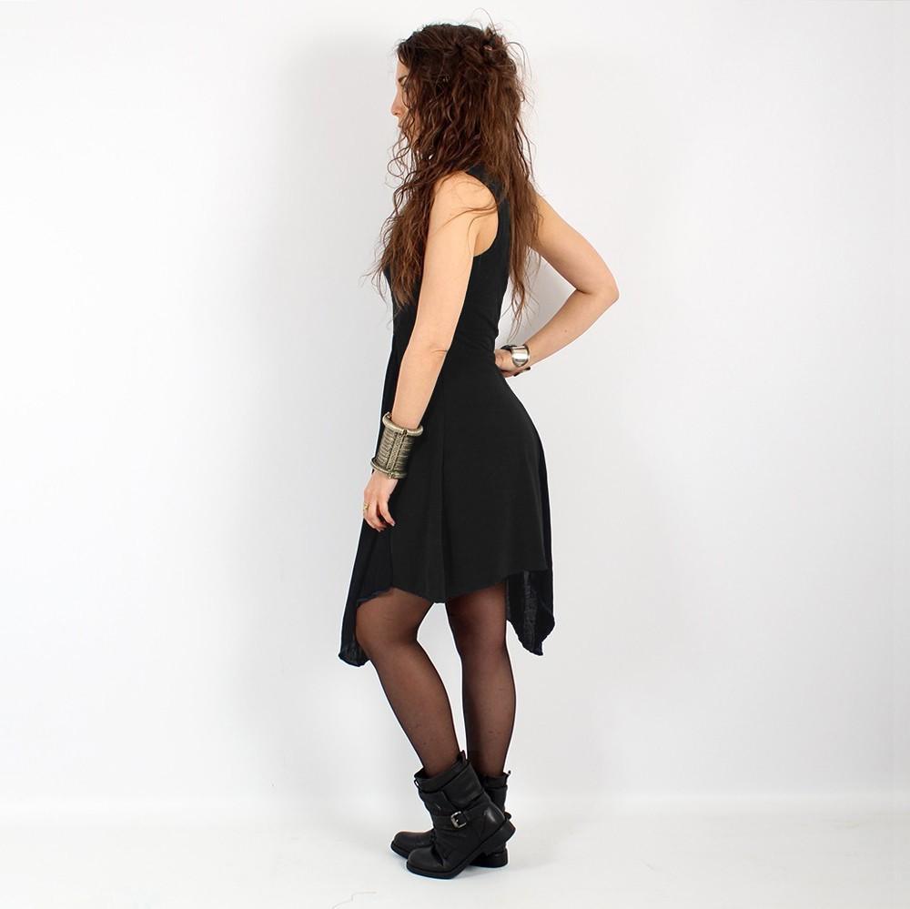 \'\'Anonga\'\' tunic, Plain black