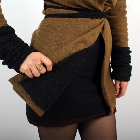 \\\'\\\'Azmäe\\\'\\\' lined jacket, Rusty and black