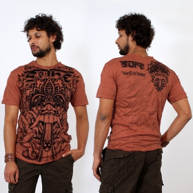 \\\'\\\'Bali dragon\\\'\\\' t-shirt, Orange