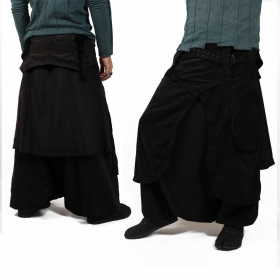 \'\'Dervish\'\' harem pants, Black