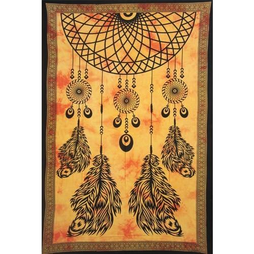 \'\'Dream Catcher\'\' hanging, Orange