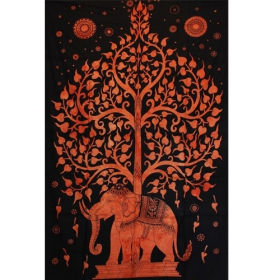 \'\'Elephant\'\' hanging, Orange