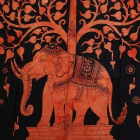 \'\'Elephant\'\' hanging, Orange