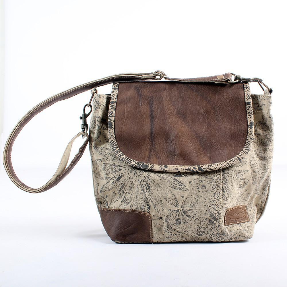 \\\'\\\'Jahanara\\\'\\\' bag, Beige and brown
