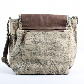 \\\'\\\'Jahanara\\\'\\\' bag, Beige and brown