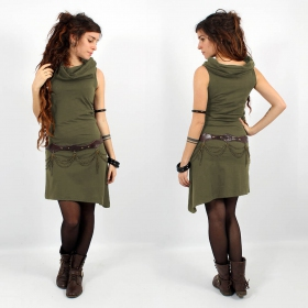 \\\'\\\'Louve\\\'\\\' dress, Khaki