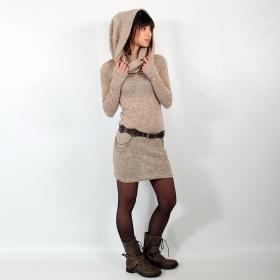 \'\'Mantra\'\' pullover dress, Beige