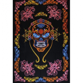 \'\'Mexican Skull\'\' hanging, Multicolor