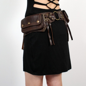 \\\'\\\'Moulin Rouge\\\'\\\' moneybelt, Brown