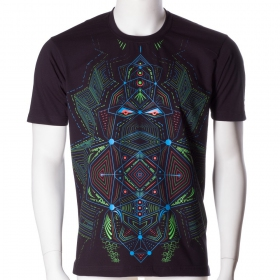 \'\'Multidimensional\'\' UV t-shirt, Black