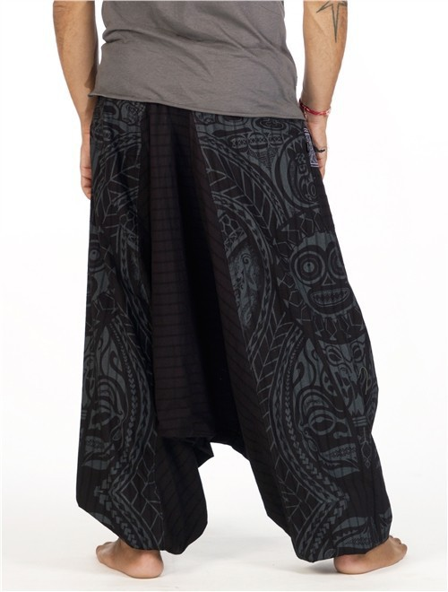 \'\'Necka\'\' harem pants, Black