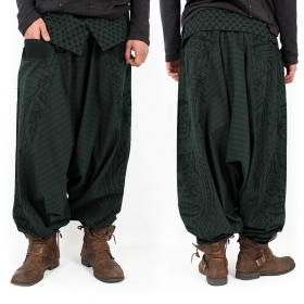 \'\'Necka\'\' harem pants, Forest green