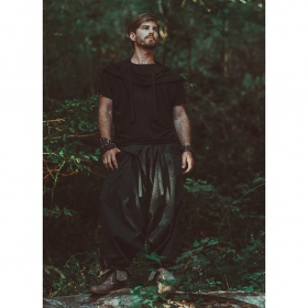 \'\'Necka\'\' harem pants, Forest green