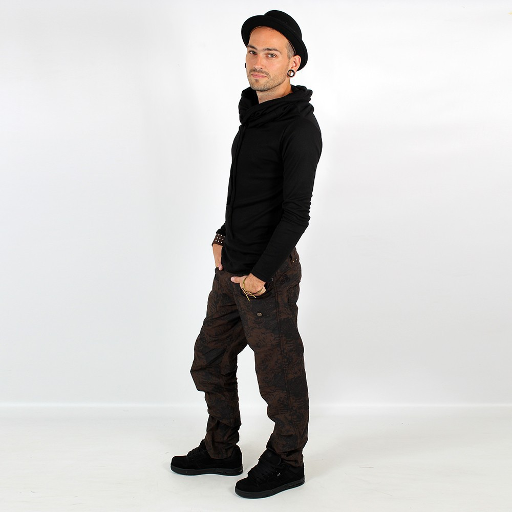 \'\'Onixx\'\' pants, Dark lizard