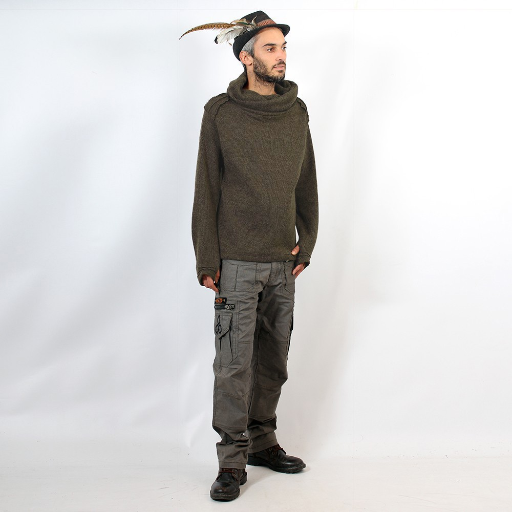 \'\'Özz\'\' thick pullover, Brown