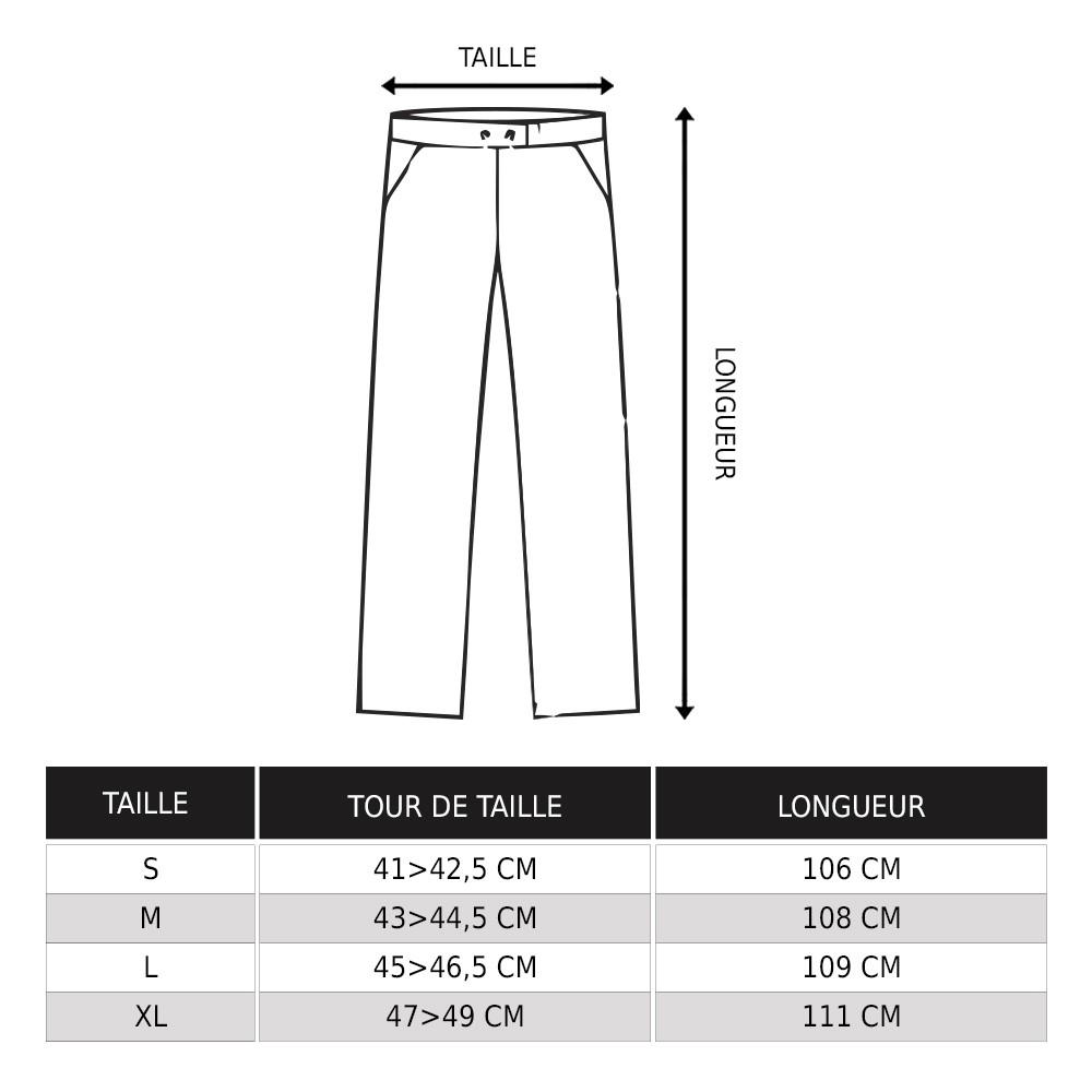 Pantalones Molecule 50005, Negros