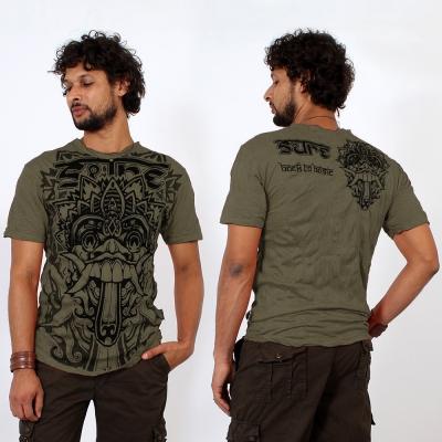 """Camiseta """"Bali Dragon"""", Verde caqui"""
