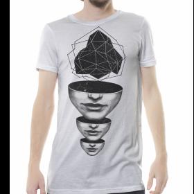 """Camiseta """"Master Mind"""", blanco roto"""