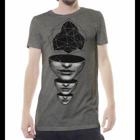 """Camiseta """"Master Mind"""", Beige jaspeado"""