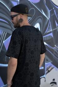 """Camiseta """"Cubik"""", Negro"""