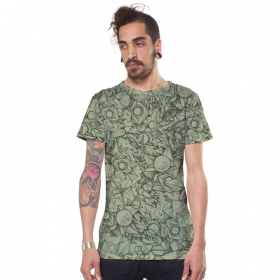 """Camiseta """"Ambitones"""", Verde claro"""