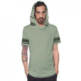 """Camiseta """"Zikit"""", Verde claro"""