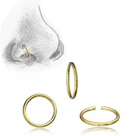 "Anillo de nariz ""Simple Ring"""