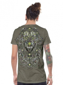 "Camiseta ""Tree Spirit"", Beige"