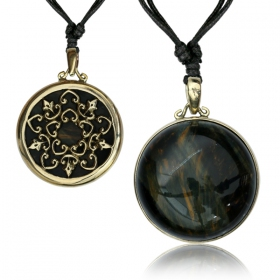 "Colgante ""Ashura Tiger Eye"""
