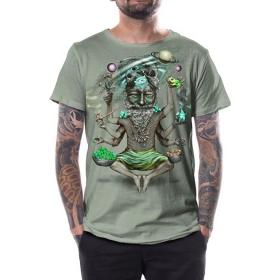 """Camiseta """"Saboosh"""", Verde claro"""