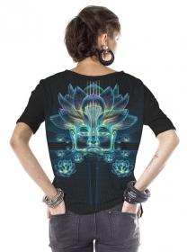 "Camiseta ""Sita Kamala"", Negro"