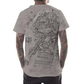 """Camiseta """"Cubina"""", Beige jaspeado"""