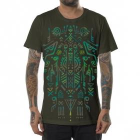 """Camiseta """"Leta"""", Verde caqui"""