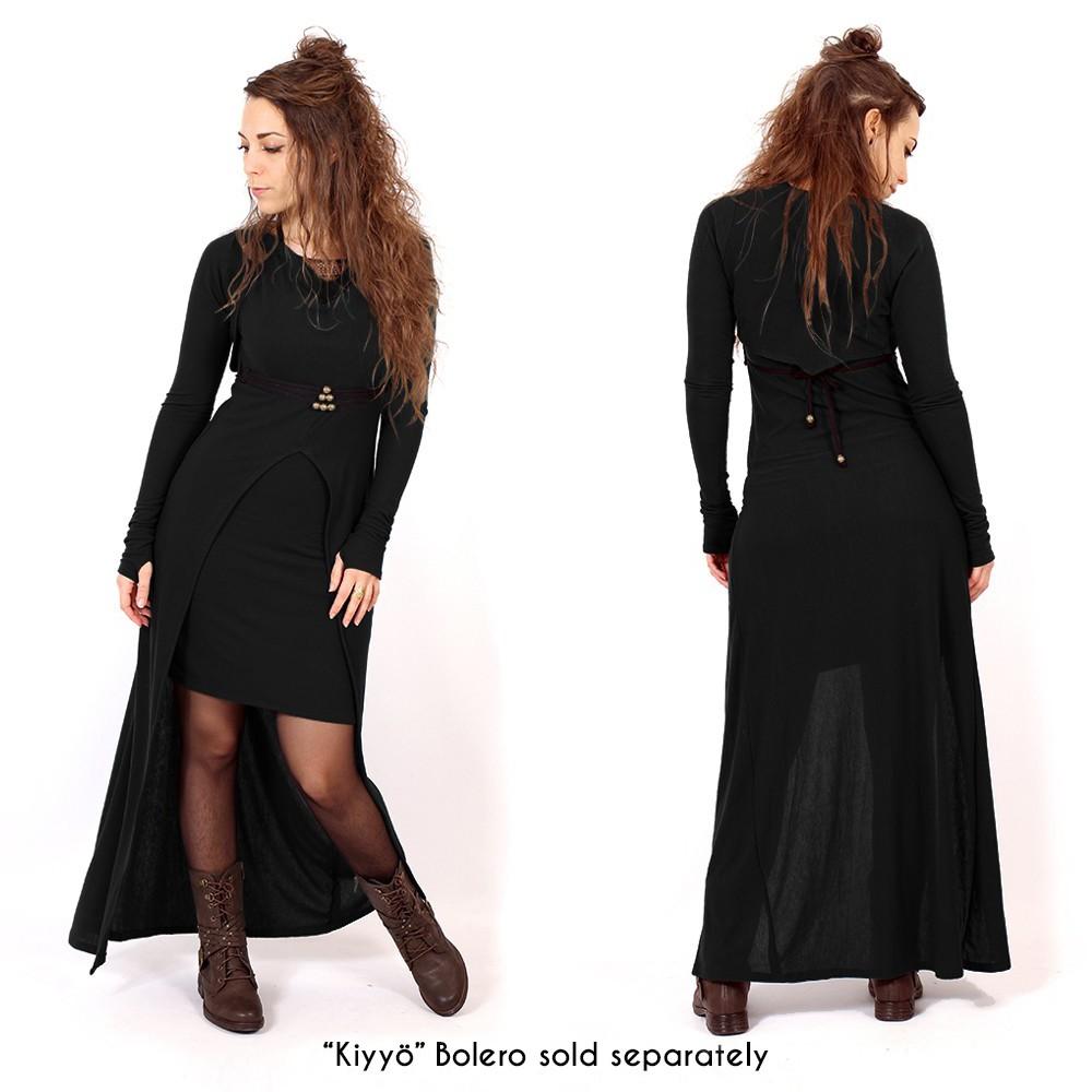 """Vestido largo """"Azeälya"""", Negro"""
