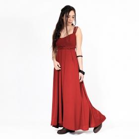 """Vestido largo """"Massaläa"""", Rojo"""