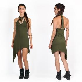 """Vestido túnica """"Akanksha"""", Verde caqui"""