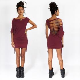 "Vestido ""Elm Street"", Rojo oscuro"