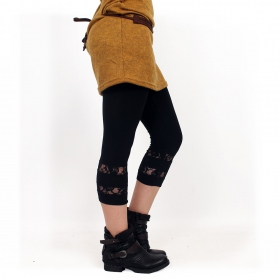 "Leggings ""Lï-Noeë"", Negro"