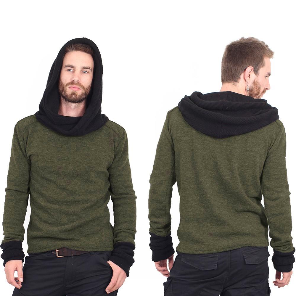 """Suéter """"Nemöo"""", Verde oliva"""
