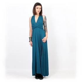 "Vestido ""Wakiza"", Azul"