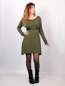 """Vestido """"Ysïaa"""", Verde caqui"""