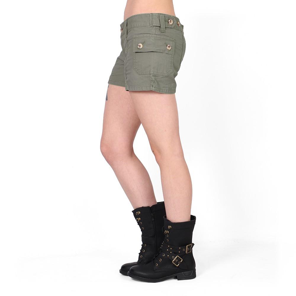Shorts Molecule, Verde caqui