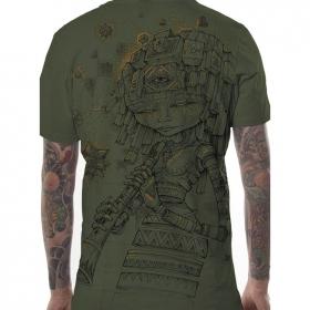 """Camiseta """"Cubina"""", Caqui jaspeado"""