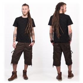 """Camiseta de mangas cortas """"Amun Shipibo"""", Negro"""