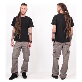 "Camiseta de mangas cortas ""Amun Swastika"", Negro"