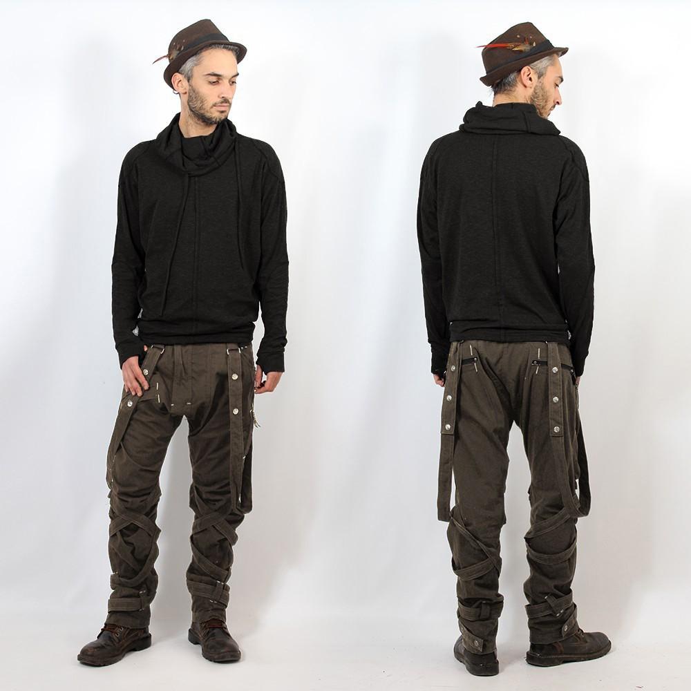 "Pantalones ""Ottoman"", Taupe"